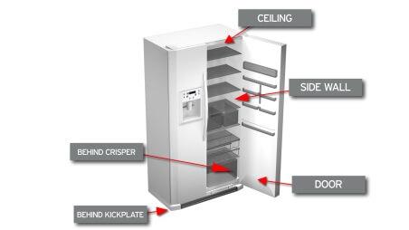Whirlpool Refrigerator Freezing Food - Repair Parts - Whirlpool